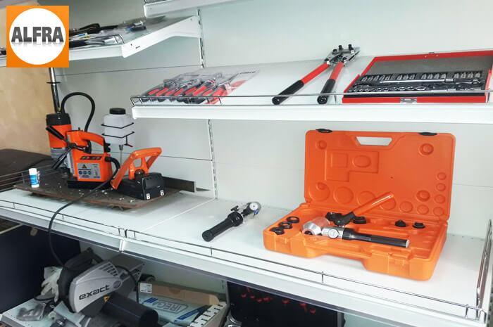 Продажа и ремонт продукции Alfra