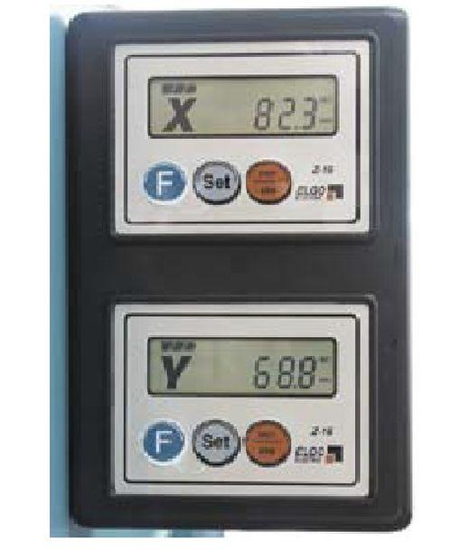 Комплект цифрового индикатора по ширине (рейка с лентой, датсчик, контроллер по ширине)