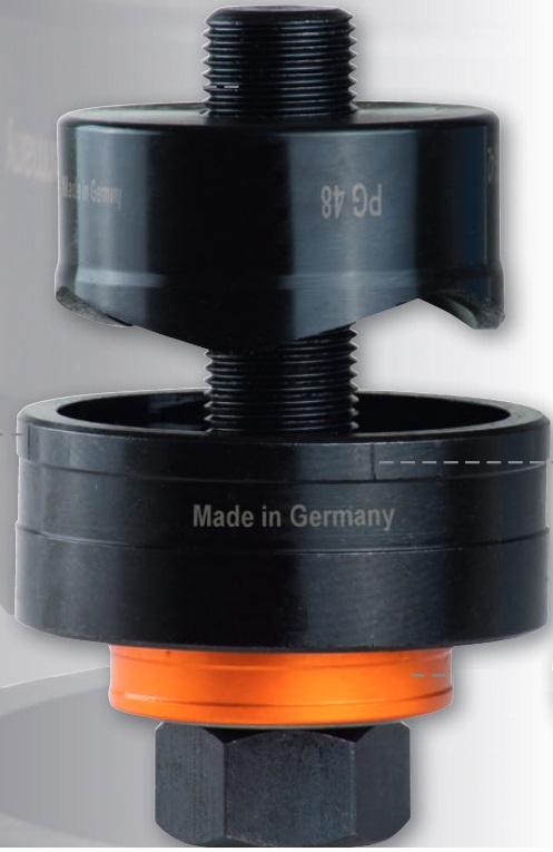 Штамп Ø 28,3 мм  PG 21 стяг. болт Ø 9,5 мм с подшипником