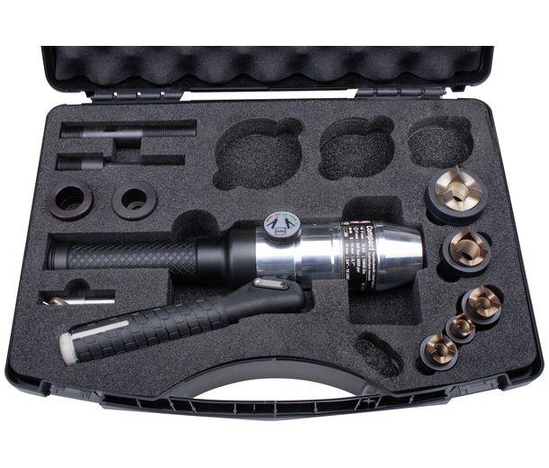 Пресс с набором штампов TriCut+ для изготовления отверстий под кабельные патрубки М16 — М63