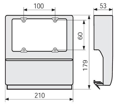 Фиксатор Матрицы 40,6 — 63.5 мм