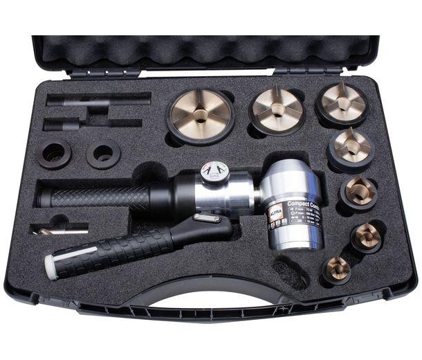 Пресс с поворотной головкой и набором штампов TriCut+ для изготовления отверстий под кабельные патрубки М16 — М63