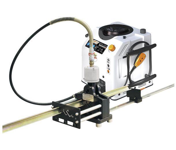 Инструмент д/обработки DIN-реек в комплекте с продольно-поперечным пуансоном 12,0х6,4 мм, 1000 мм упором и направляющим устройством для работы с гидравлическим приводом