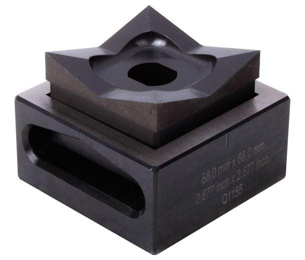 Квадратный штамп 68.0х68.0 мм, 1 шт