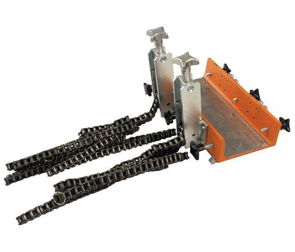 Фиксатор станка цепями, 80-900