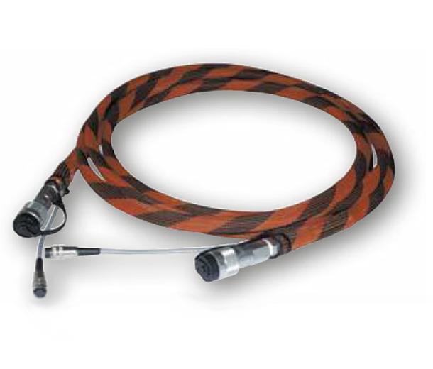 23015 Шланг 5 м. с кабелем и муфтой