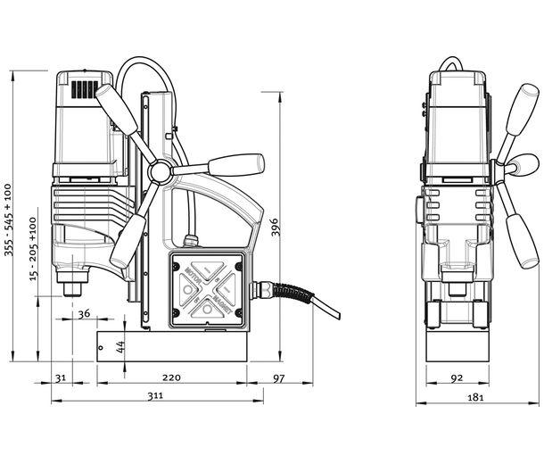 18750 Станок Rotabest RB 50 X, державка18001, без системы охлаждения